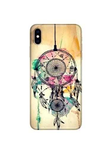 People's Cover iPhone XS Max Baskılı Telefon Kılıfı Renkli